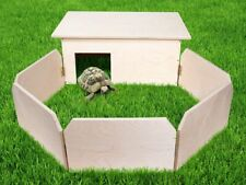Tortoise-H from spout XXL Handmade Terrarium Enclosure Cage Protection House