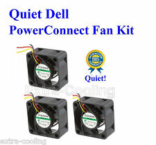 Quiet! Dell PowerConnect 2748 Fan Kit, (XP166) 3xFans 18dBA Noise each
