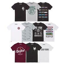 Zoo York-Para Hombres Camiseta-Skate Street Fashion Wear-Elección De Diseños