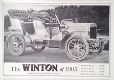 1905 AD(G8)~THE WINSTON FOUR-CYLINDER MOTOR CAR FOR 1905