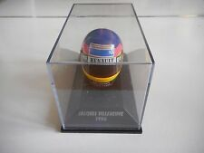 Minichamps F1 Formula 1 Helmet Jacques Villeneuve 1996 on 1:8 in Box