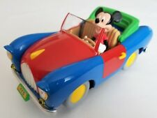 Mickey Mouse Convertible Car Jalopy Red Green Display Stand    A2