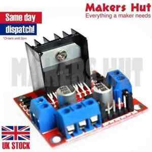 Dual H Bridge L298N DC Stepper Motor Driver Controller Board - Arduino