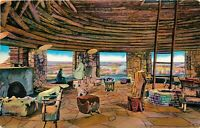 DB Postcard AZ Da284 Grand Canyon The Kiva Desert View Harvey Watchtower 1957