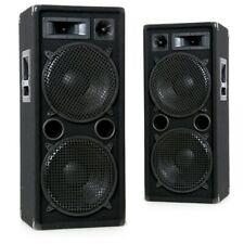 Lautsprecher Bass Boxen PA DJ 2000 Watt robust 3-Wege Full Range Disco Paar