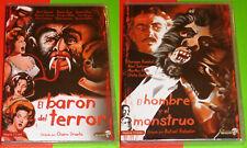EL BARON DEL TERROR Chano Urueta + EL HOMBRE Y EL MONSTRUO Rafael Baledón - Prec