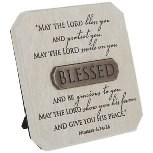 May The Lord Bless You . Numbers 6:24-26 Décor