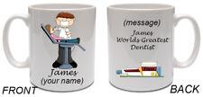 Personalised YOUR NAME Dentist Mug 204 Ceramic Gift Birthday Son Grandad Father