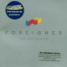 Definitive - Foreigner (2002, CD NUEVO)