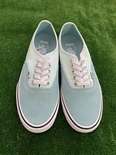 NEW Vans Authentic Pro Aqua Blue Skate Shoes Sneakers UltraCush Mens Size 7.5