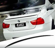 BMW E90 4D Saloon dipinto 668 JET BLACK ABS BOOT LIP SPOILER M3 stile OME Fit