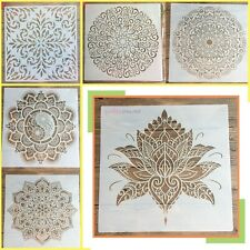 Mandala DIY Layering Stencils Template Decor For Walls Scrapbooking Painting