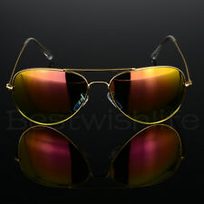 4816cc36b0a Aviator Polarized Sunglasses Men Ladies Women Unisex Mirror Vintage Retro  Pilot