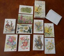Box Hallmark Nature's Sketchbook by Marjolein Bastin Itty Bitty Greeting Cards
