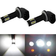 Jdm Astar 2x 50W 881 889 Super Bright 6000K  00004000 White 12V Led Fog Lights Bulbs Lamps(Fits: Neon)