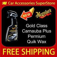 Meguiars Gold Class High Gloss Premium Quik Quick Wax G7716 New