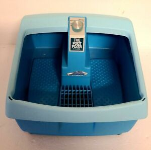 The Foot Fixer By Clairol Vibrating Massage And Heat Foot Spa Bath Model FF1 EUC