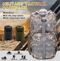 Rucksack Militär Molle Assault Packung Cadet Armee Kampf Tasche Nitehawk!