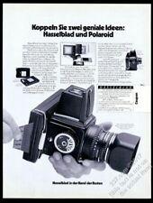 1975 Hasselblad 500 C/M camera German vintage print ad