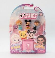NEW DISNEY 4 PACK OOSHIES SERIES 2 PENCIL TOPPERS FEATURING MICKEY MOUSE - 77134