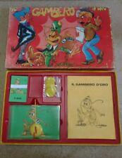 Gioco Il gambero d'oro, originale anni 60