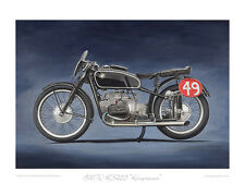 """BMW RS255 """"Kompressor"""" (Supercharged) Limited Edition Art Print by Steve Dunn"""