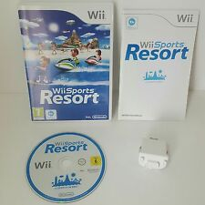Wii Sports Resort +Genuine official Nintendo motion plus Dongle add on accessory