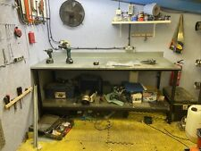 More details for workshop work bench with steel top