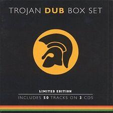 Trojan Box Set: Dub  Various Artists 3 CD,2002, Trojan still sealed w/hype NEW