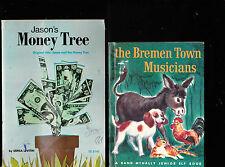 Children's Book Lot of 13 Alamo Horse Firemen Policemen UFOs Donkey