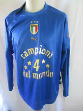 Italy 2006 World Cup Final Winners  Home Football Shirt Size Large BNWT /34372