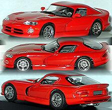 Dodge Viper GTS Coupe 1992-2002 RED 1.43 MINICHAMPS