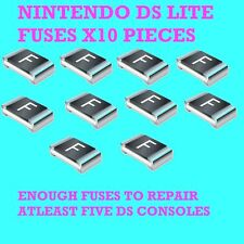 NINTENDO DS & DS LITE REPAIR FUSES X10 SPARES FAULTY DS