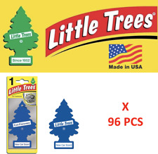 New car scent Freshener10189 Little Trees  MADE IN USA Pack of 96