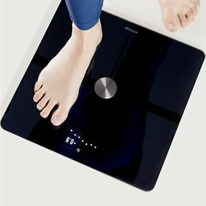 Slightly Used Withings Body+ Body Composition Smart Wi-Fi Scale, Black, 13 x 13