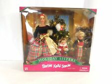 Barbie Kelly Stacie HOLIDAY SISTERS Special Edition 1998 Mattel Gift Set #19809