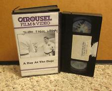 DAY AT DOJO documentary karate training VHS philosophy Martial Arts discipline