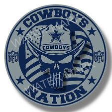 Dallas Cowboys Nation NFL Sticker, Vinyl Decal Truck Car window Pro Football USA