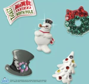 Origami OWL FROSTY THE SNOWMAN, CHRISTMAS 2019 & 2020 plates & charms RARE HTF