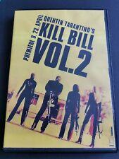 Kill Bill Vol. 2 DVD