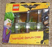 New 2017 LEGO The Batman Movie Minifigure Display Case 8 Pack Black 4065