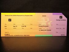 1984 Los Angeles Olympic Games Ticket > Closing Ceremony - 12 AUG (AR)