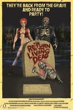 RETURN OF THE LIVING DEAD - ONE SHEET MOVIE POSTER 24x36 - HORROR CLASSIC 3236