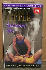 Tony Little - Awesome Abs (Vhs) New