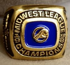 1998 West Michigan Whitecaps Replica Championship Ring SGA 6/17/18