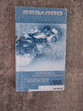 1988 - 1999 Sea Doo Personal Watercraft Specification Booklet Water Sports S