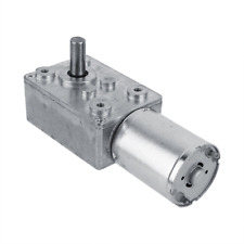 DC 12V Reversible High Torque Turbo Worm Gear Box Reduction Electric Motor62RPM
