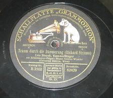 78rpm/Grammophon 62429/LEO SLEZAK/GRIEG/IM KAHNE/STRAUSS/TRAUM DURCH DIE DÄMMERU