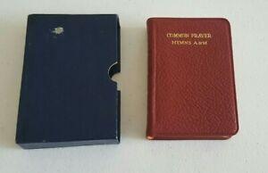 Common Prayer Hymns A&M Illustrated Pocket Size Vintage 1940