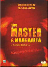 DVD  MASTER AND MARGARITA ( 3 DVDs NTSC with ENGLISH SUBTITLES ) BORTKO